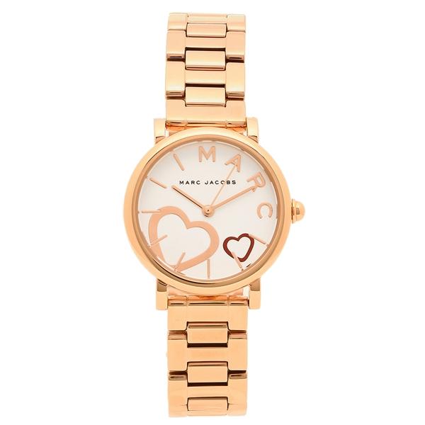 MARC JACOBS 腕時計 レディース マークジェイコブス MJ3592 ピンクゴールド/ホワイト
