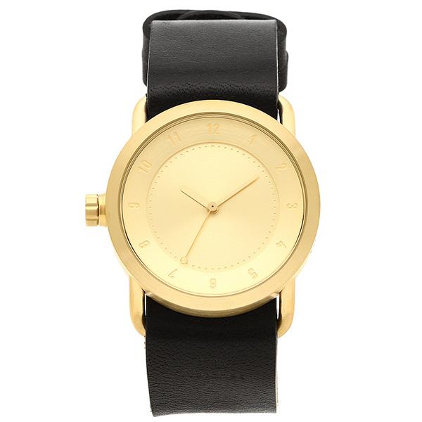 TID Watches 腕時計 メンズ/レディース TID01-36 GD/BK ゴールド ブラック ティッドウォッチ