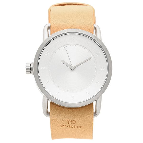TID Watches 腕時計 メンズ/レディース TID01-SV/N シルバー ナチュラル ティッドウォッチ