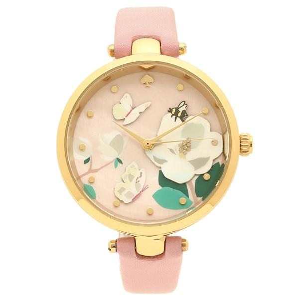 KATE SPADE 腕時計 レディース ケイトスペード KSW1413 ピンク イエローゴールド