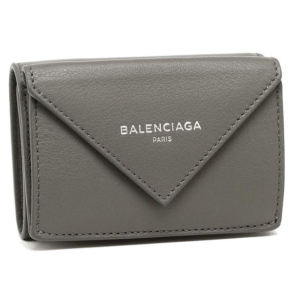 BALENCIAGA 折財布 レディース バレンシアガ 391446 DLQ0N 1215 ダークグレー