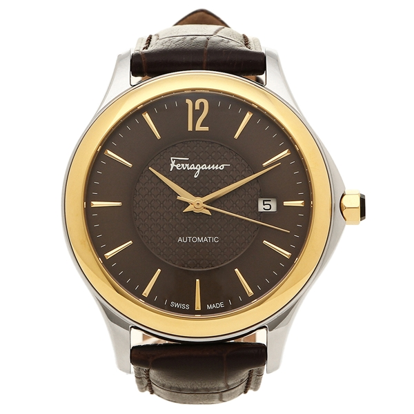 Salvatore Ferragamo 腕時計 メンズ フェラガモ FFT030016 ダークブラウン ブラウン
