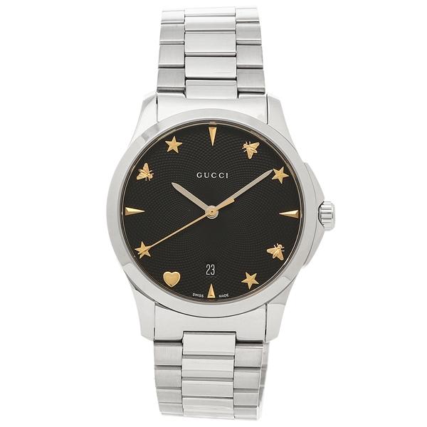 GUCCI 腕時計 レディース グッチ YA1264029 ブラック シルバー