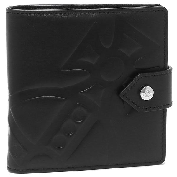 VIVIENNE WESTWOOD 折財布 メンズ ヴィヴィアンウエストウッド 51090001 40317 N401 ブラック