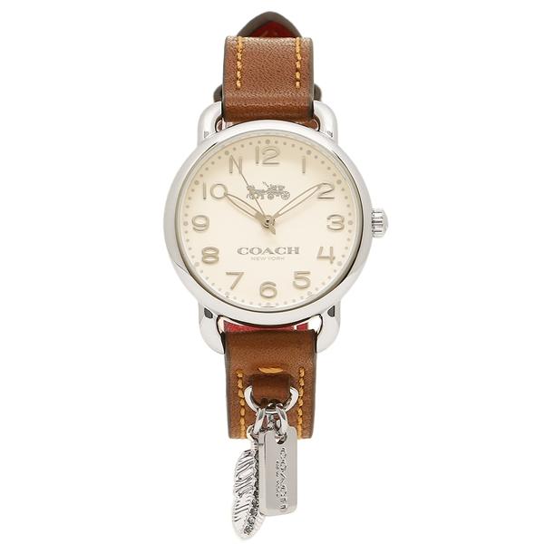 COACH 腕時計 レディース コーチ 14502800 ブラウン シルバー