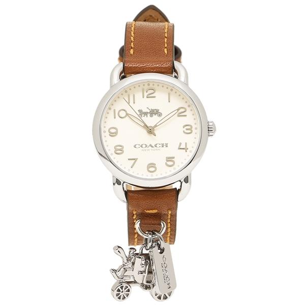 COACH 腕時計 レディース コーチ 14502815 ブラウン シルバー