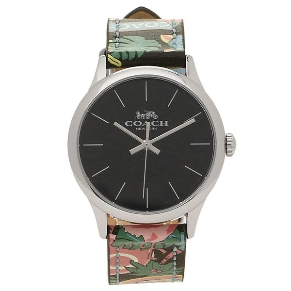 COACH 腕時計 アウトレット レディース コーチ W1546 BLC ブラック シルバー マルチ