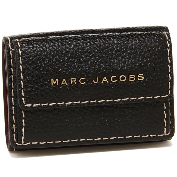 MARC JACOBS 折財布 レディース マークジェイコブス M0014002 001 ブラック