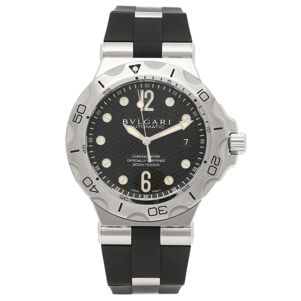 ブルガリ 時計 メンズ BVLGARI DP42BSVDSD ディアゴノ 腕時計 ウォッチ ブラック