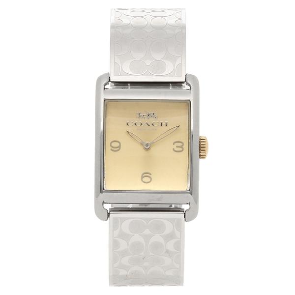 COACH 腕時計 レディース コーチ 14502850 シルバー/イエローゴールド