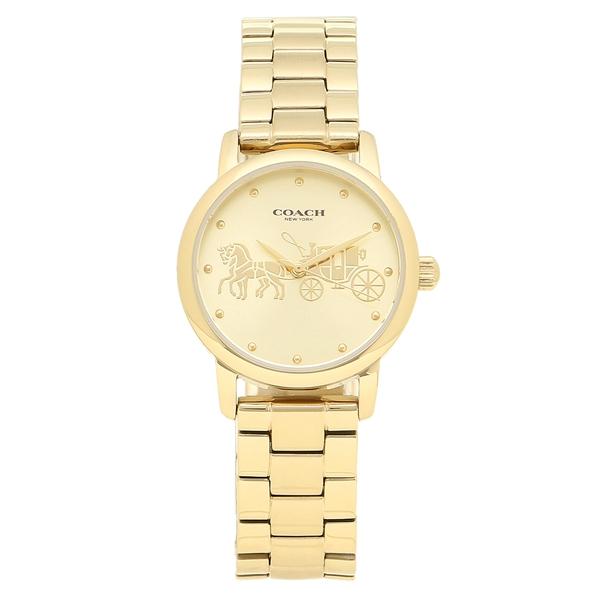 COACH 腕時計 レディース コーチ 14502976 イエローゴールド