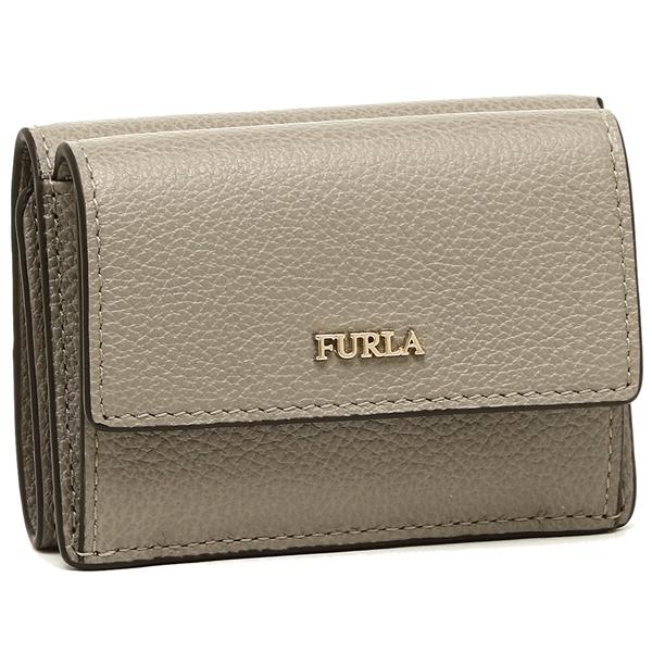 FURLA 折財布 レディース フルラ 962291 PZ12 OAS SBB グレー