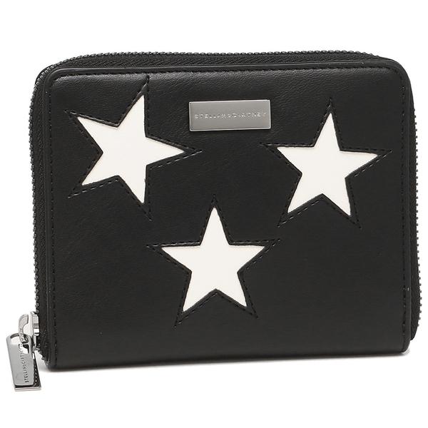 STELLA McCARTNEY 折財布 レディース ステラマッカートニー 431021 W8236 1000 ブラック/ホワイト