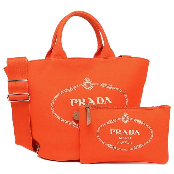 PRADA トートバッグ レディース プラダ 1BG163 ZKI F0049 OOO オレンジ