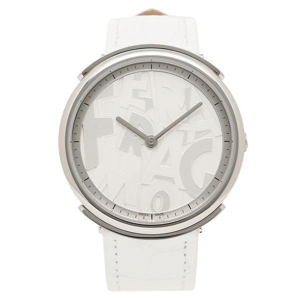Salvatore Ferragamo 腕時計 レディース フェラガモ FFY010017 シルバー ホワイト