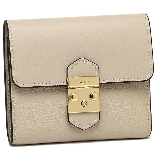 FURLA 折財布 レディース フルラ 967362 PU28 CO2 V89 ベージュ