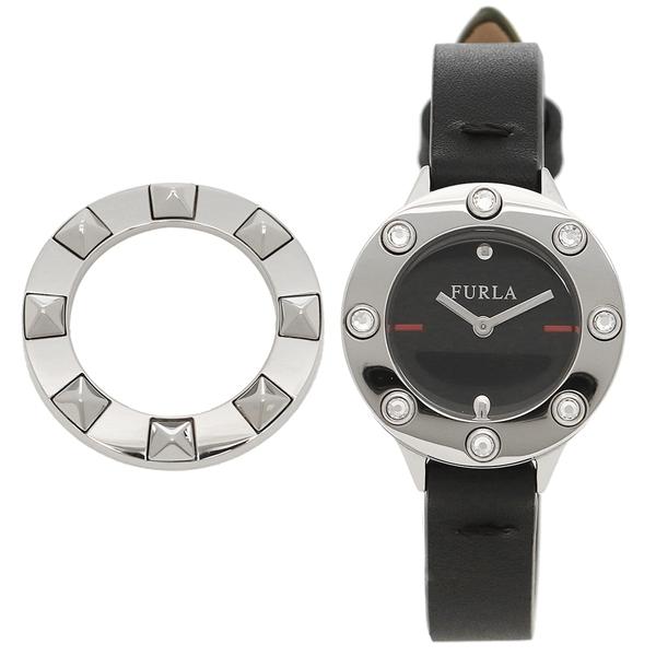 FURLA 腕時計 レディース フルラ 976433 R4251116505 O60 ブラック シルバー