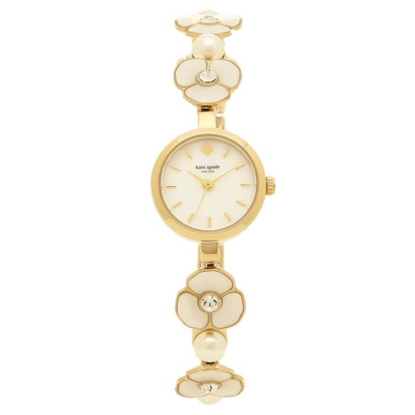 KATE SPADE 腕時計 レディース ケイトスペード KSW1420 ホワイト ゴールド