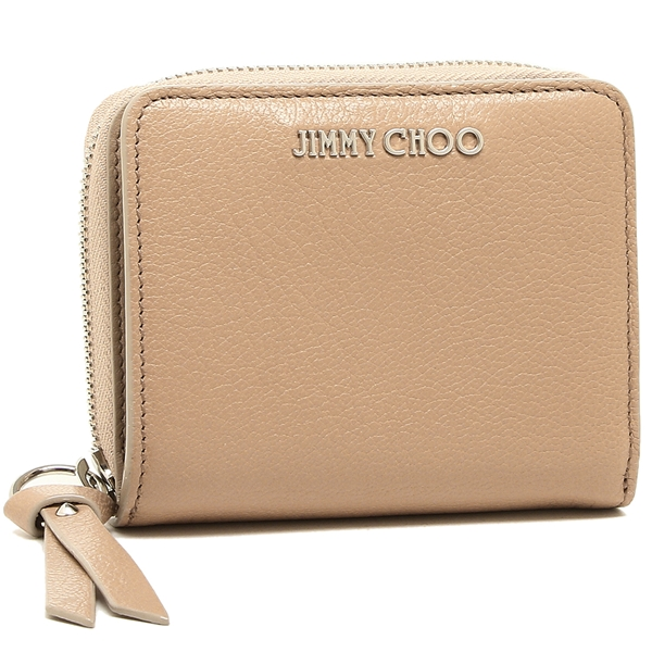 JIMMY CHOO 二つ折り財布 レディース ジミーチュウ ピンク
