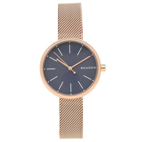SKAGEN 腕時計 レディース スカーゲン SKW2593 ローズゴールド ブルー