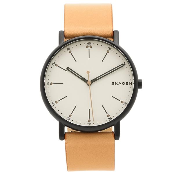 SKAGEN 腕時計 メンズ スカーゲン SKW6352 ブラウン ホワイト