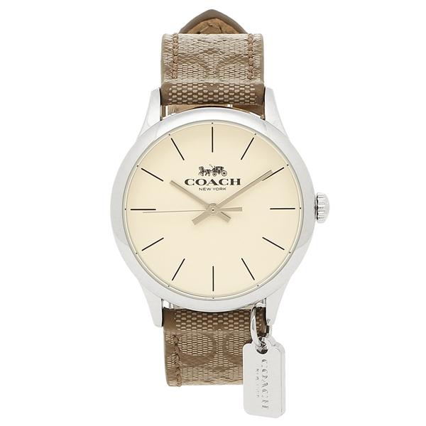 COACH 腕時計 レディース アウトレット コーチ W1549 KHA カーキ シルバー
