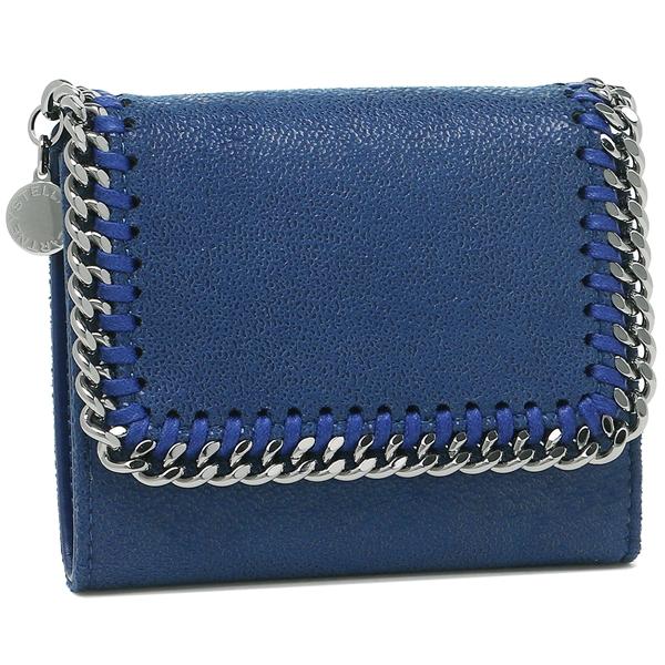 STELLA McCARTNEY ファラベラ 三つ折り財布 レディース ステラマッカートニー 431000 W9132 4040 ブルー