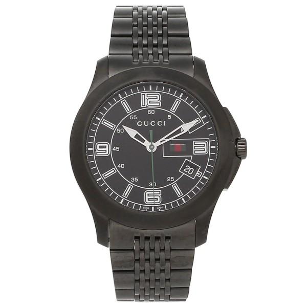 GUCCI グッチ YA126202 Gタイムレス XL クラシック メンズ オールブラック 腕時計 ウォッチ WATCH