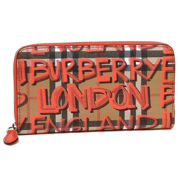 BURBERRY 長財布 レディース バーバリー 4075160 60000 レッド