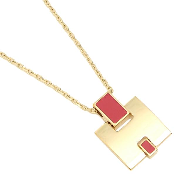 HERMES ネックレス アクセサリー レディース エルメス H146201F 94 ピンク ゴールド