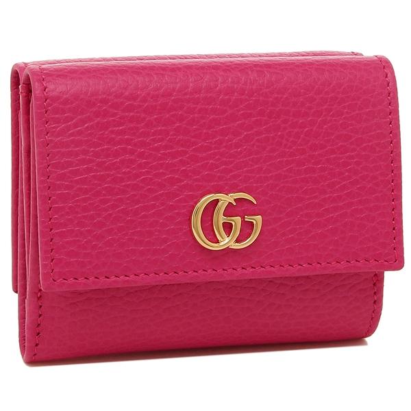 GUCCI 折財布 レディース グッチ 524672 CAO0G 5752 ピンク