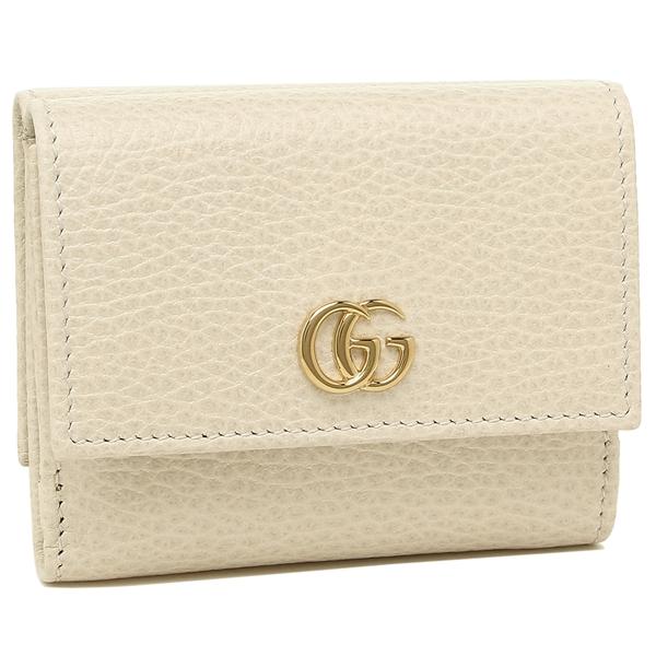 GUCCI 折財布 レディース グッチ 524672 CAO0G 9022 ホワイト