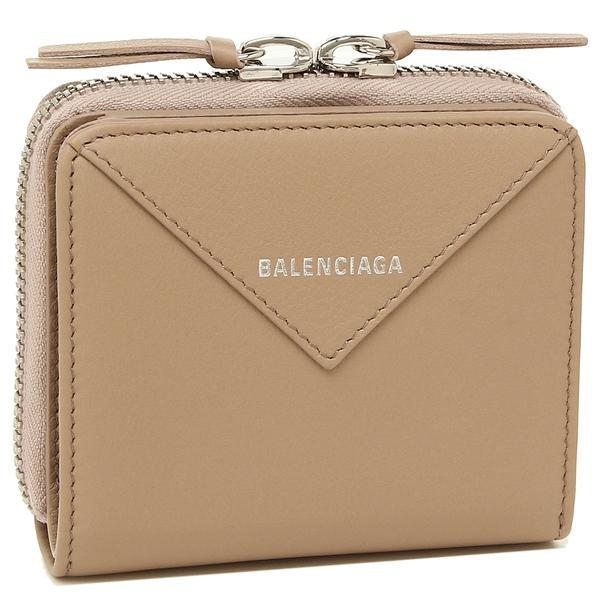 BALENCIAGA 折財布 レディース バレンシアガ 371662 DLQ0N 6310 ベージュ