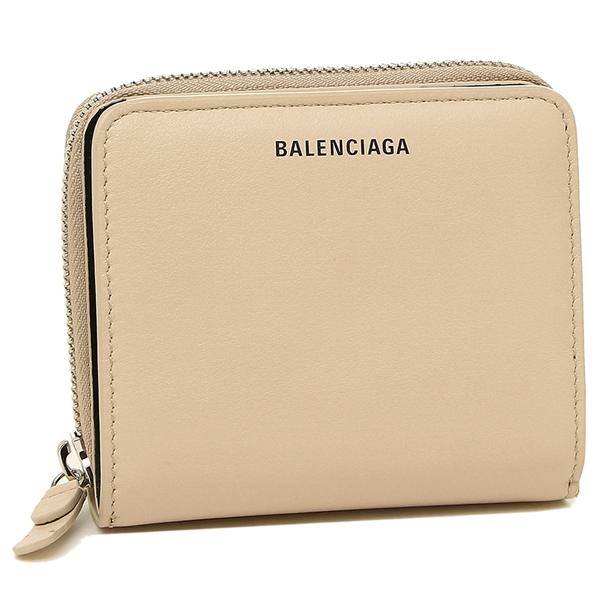 BALENCIAGA 折財布 レディース バレンシアガ 516366 DLQ0N 2730 ベージュ