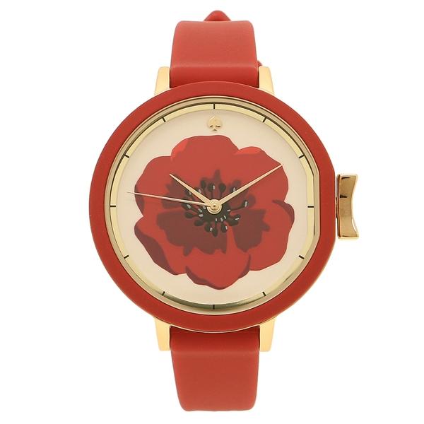 KATE SPADE 腕時計 レディース ケイトスペード KSW1354 レッド ホワイト