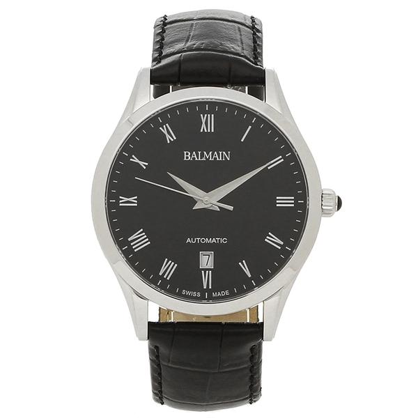 BALMAIN 腕時計 自動巻き メンズ バルマン B1441.32.62 シルバー ブラック