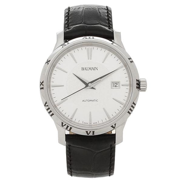 BALMAIN 腕時計 自動巻き メンズ バルマン B1541.32.26 シルバー