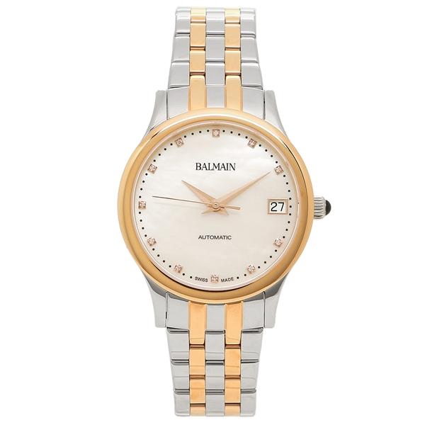 BALMAIN 腕時計 自動巻き レディース バルマン B3998.33.86 ピンクゴールド パール