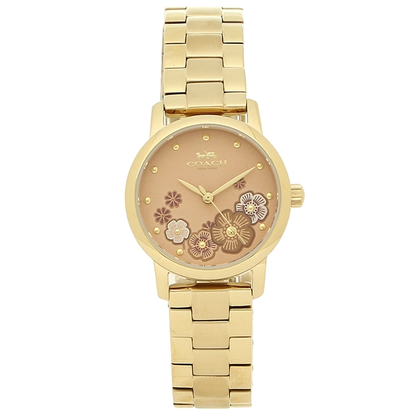 COACH 腕時計 レディース コーチ 14503056 イエローゴールド