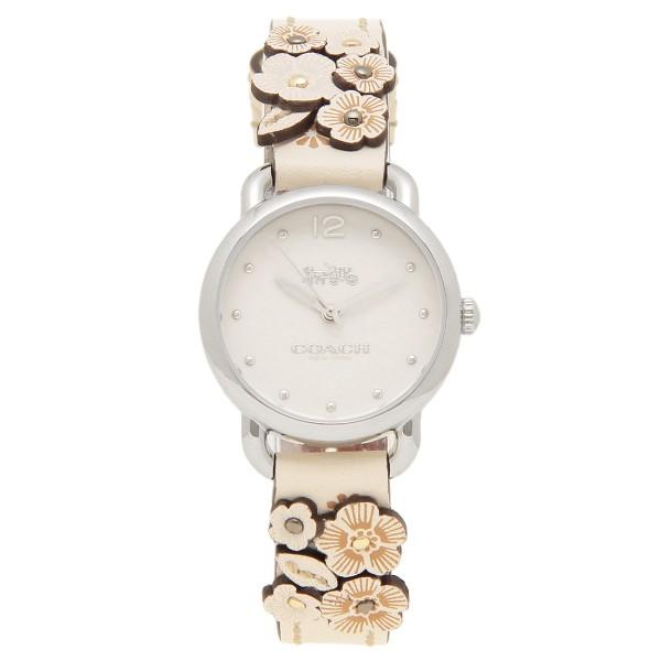 COACH 腕時計 レディース コーチ 14502760 ホワイト ベージュ シルバー