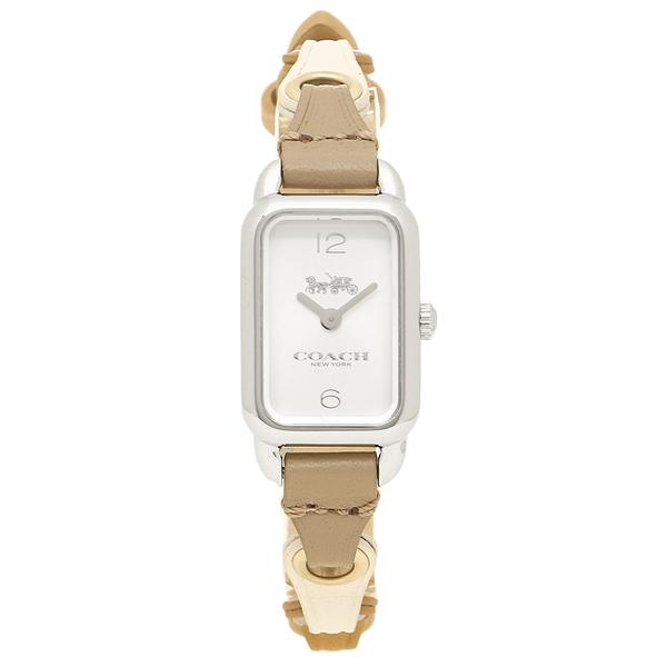 COACH 腕時計 レディース コーチ 14502961 ブラウン シルバー