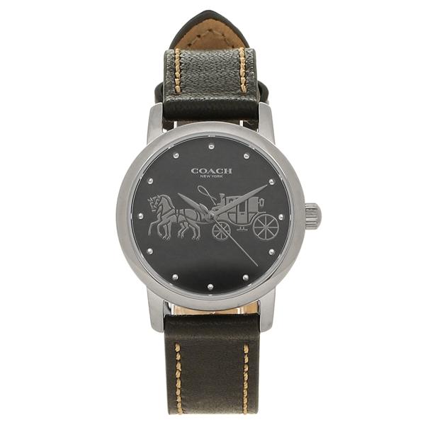 COACH 腕時計 レディース コーチ 14502979 シルバー ブラック