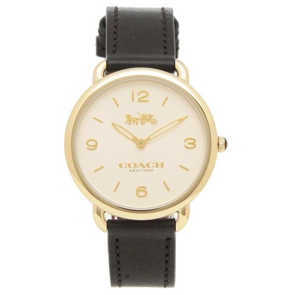 COACH 腕時計 レディース コーチ 14502998 ブラック イエローゴールド