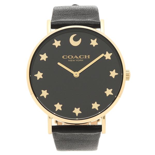 COACH 腕時計 レディース コーチ 14503042 ブラック イエローゴールド