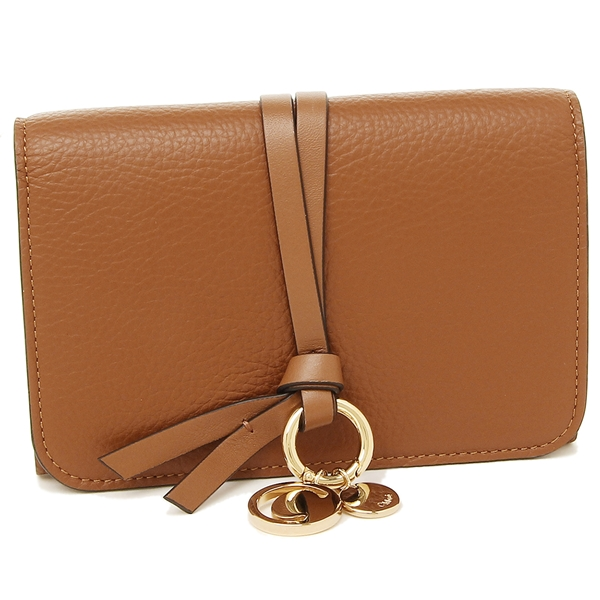 CHLOE 折財布 レディース クロエ CHC17AP943 H9Q 25M ブラウン