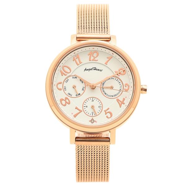 ANGEL HEART 腕時計 レディース ソーラー エンジェルハート WS33PG ピンクゴールド ホワイト