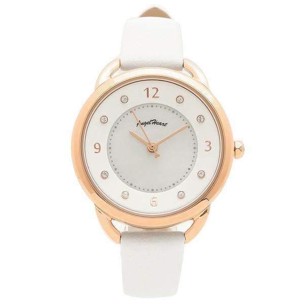 ANGEL HEART 腕時計 レディース ソーラー エンジェルハート YR31P-WH ピンクゴールド ホワイト
