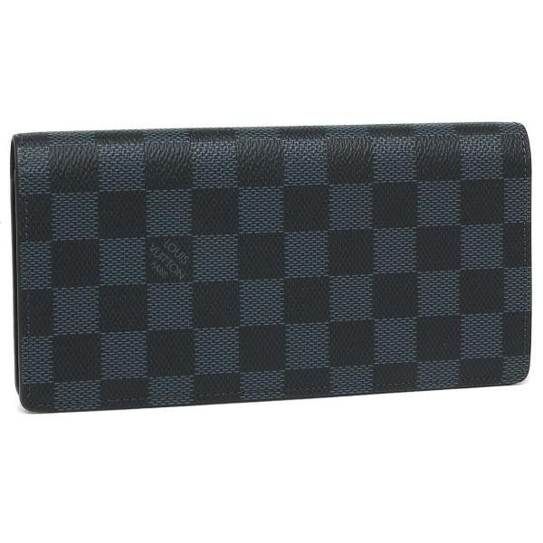 ルイヴィトン 財布 LOUIS VUITTON N63212 ダミエコバルト ポルトフォイユブラザ 長財布