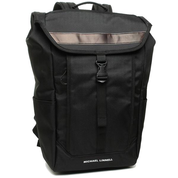 MICHAEL LINNELL バッグパック メンズ レディース マイケルリンネル ML025 ブラック