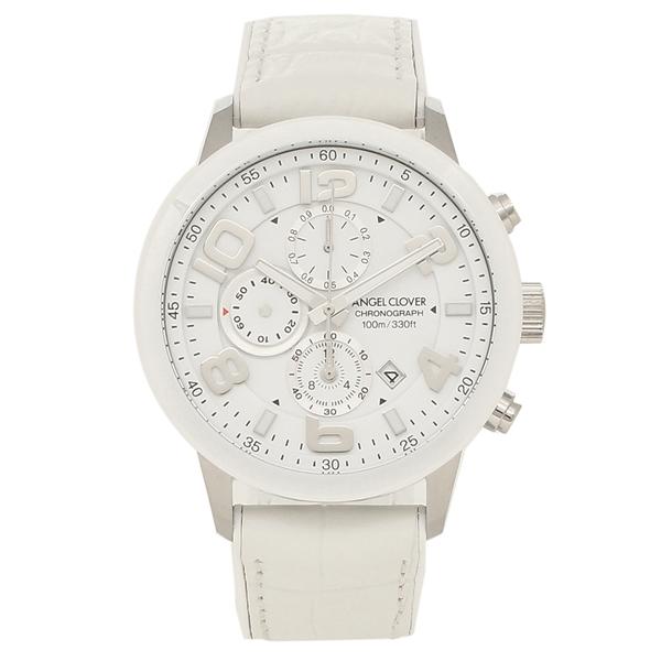 ANGEL CLOVER 腕時計 メンズ エンジェルクローバー LU44SWH-WH ホワイト